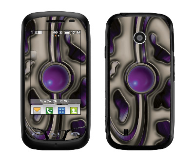 LG Cosmos Touch Skin :: Cynic Purple