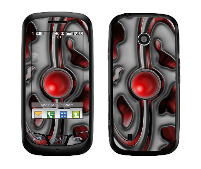 LG Cosmos Touch Skin :: Cynic Red