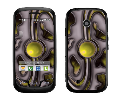 LG Cosmos Touch Skin :: Cynic Yellow