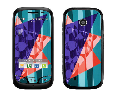 LG Cosmos Touch Skin :: Geometric Blast