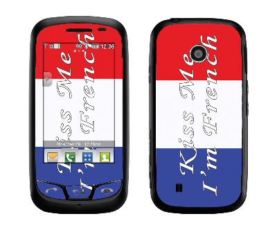 LG Cosmos Touch Skin :: Kiss Me French