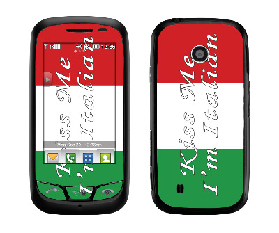 LG Cosmos Touch Skin :: Kiss Me Italian