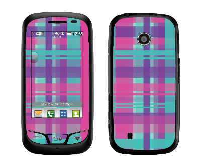 LG Cosmos Touch Skin :: Candy Shop Plaid