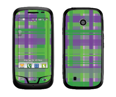 LG Cosmos Touch Skin :: Punk Rock Plaid
