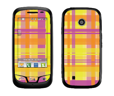 LG Cosmos Touch Skin :: Sun Kissed Plaid