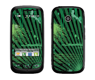 LG Cosmos Touch Skin :: Splatter Green