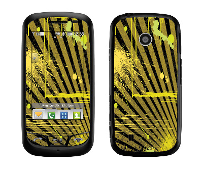 LG Cosmos Touch Skin :: Splatter Yellow