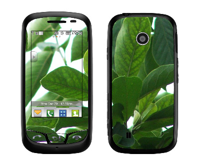 LG Cosmos Touch Skin :: Summer Leaves