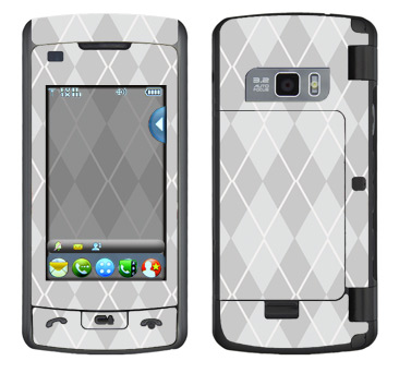 LG enV Touch Skin :: Argyle Gray