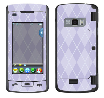 LG enV Touch Skin :: Argyle Purple