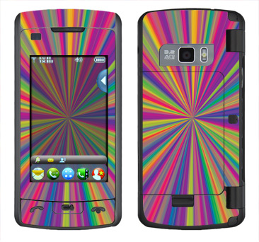 LG enV Touch Skin :: Color Blast