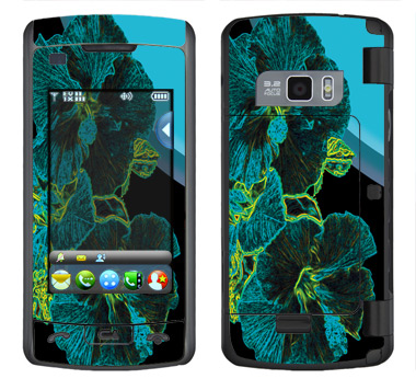 LG enV Touch Skin :: Cosmic Flowers 2