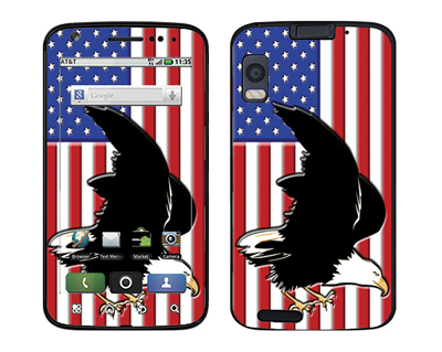Motorola Atrix Skin :: American Flag 2