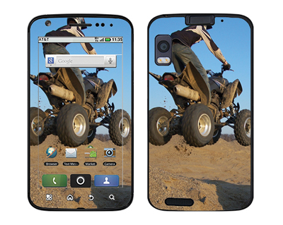 Motorola Atrix Skin :: ATV Rider