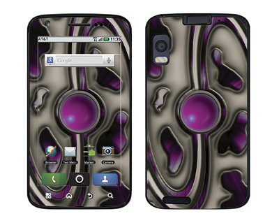 Motorola Atrix Skin :: Cynic Purple