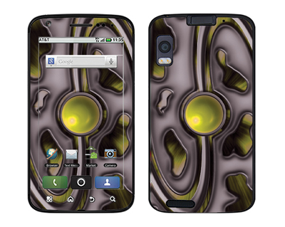 Motorola Atrix Skin :: Cynic Yellow
