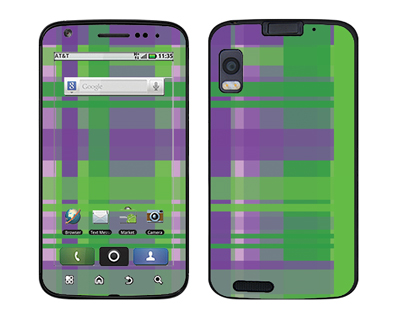 Motorola Atrix Skin :: Punk Rock Plaid