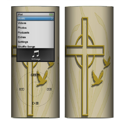 Apple Nano 4th Gen Skin :: Christian 1