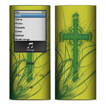Apple Nano 4th Gen Skin :: Christian 2