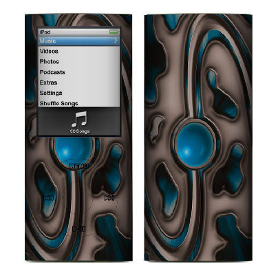 Apple Nano 4th Gen Skin :: Cynic Blue