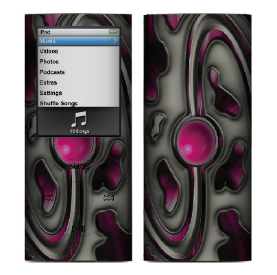 Apple Nano 4th Gen Skin :: Cynic Pink