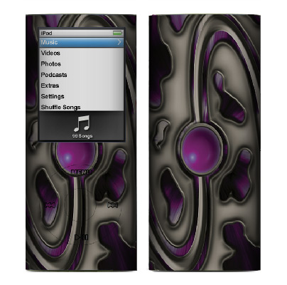 Apple Nano 4th Gen Skin :: Cynic Purple