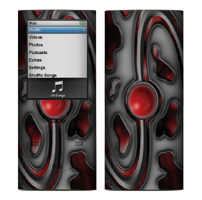 Apple Nano 4th Gen Skin :: Cynic Red