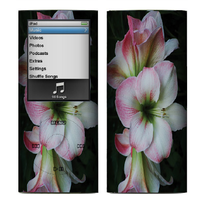 Apple Nano 4th Gen Skin :: Floral Grace