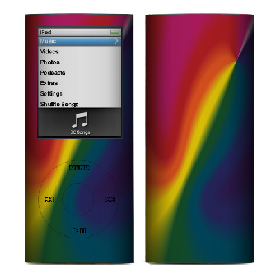 Apple Nano 4th Gen Skin :: Polar Spectrum