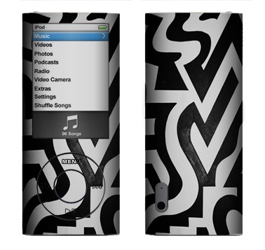Apple Nano 5th Gen Skin :: Chaos Theory