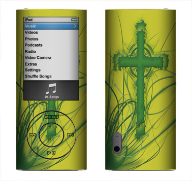 Apple Nano 5th Gen Skin :: Christian 2