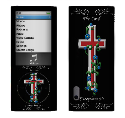 Apple Nano 5th Gen Skin :: Christian 3