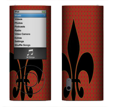 Apple Nano 5th Gen Skin :: Royal Heraldry
