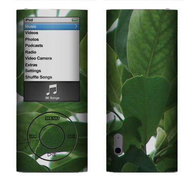 Apple Nano 5th Gen Skin :: Summer Leaves