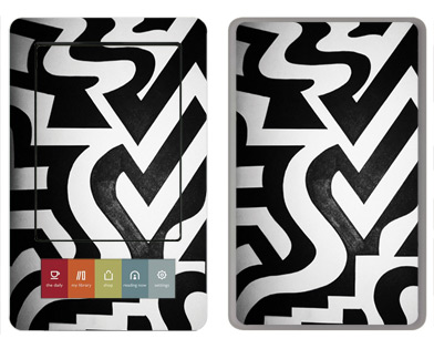 Barnes &amp; Noble Nook Skin :: Chaos Theory