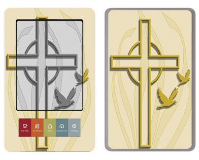 Barnes &amp; Noble Nook Skin :: Christian 1