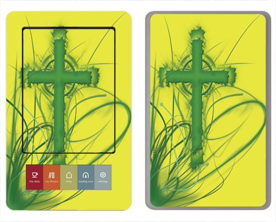 Barnes &amp; Noble Nook Skin :: Christian 2