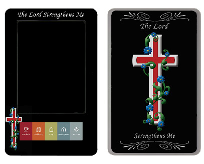 Barnes &amp; Noble Nook Skin :: Christian 3