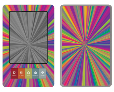 Barnes &amp; Noble Nook Skin :: Color Blast