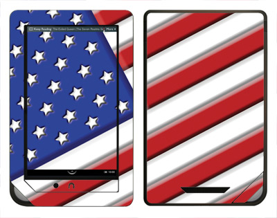 Barnes & Noble Nook Color Skin :: American Flag 1