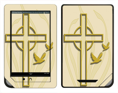 Barnes & Noble Nook Color Skin :: Christian 1