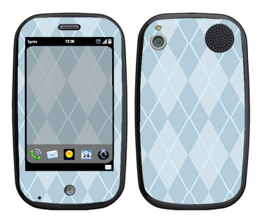 Palm Pre Skin :: Argyle Blue