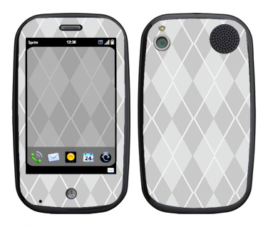 Palm Pre Skin :: Argyle Gray