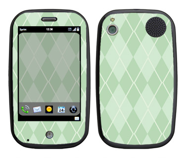Palm Pre Skin :: Argyle Green