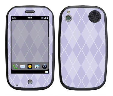 Palm Pre Skin :: Argyle Purple