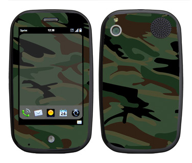 Palm Pre Skin :: Camo Green