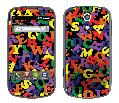 Samsung Epic Skin :: Alphabet Soup
