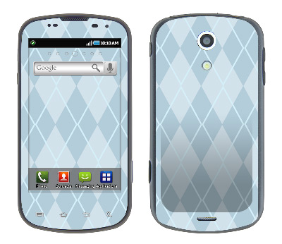 Samsung Epic Skin :: Argyle Blue