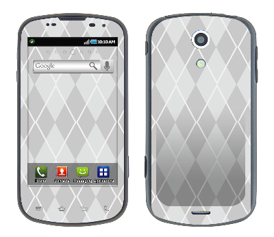 Samsung Epic Skin :: Argyle Gray