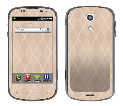 Samsung Epic Skin :: Argyle Tan